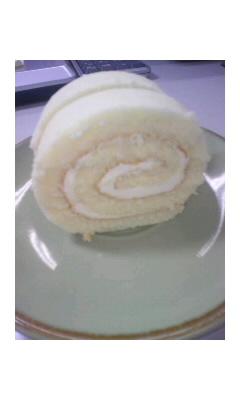 癒しのロールケーキ