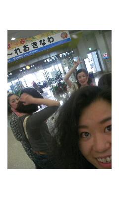 沖縄空港到着!